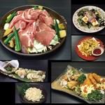 権倉 - 豚肉陶板焼き付き3000円コース料理6品+2H飲み放題