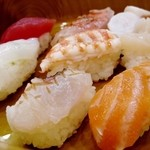 とことん - 寿司定食アップ