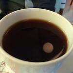 サンデコ珈琲 - 珈琲は栗のような香り、酸味が強い。一度しかこういうタイプは経験ない