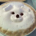 サンデコ珈琲 - 白熊ちゃん!可愛い