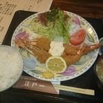 にっぽんの洋食 江戸一 - 2015/04/15 12:20訪問 海老フライ定食\1,250
