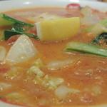太陽のトマト麺 - 太陽のクリームトマト麺 トッピング