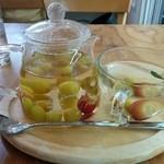 37513785 - 果汁たっぷりグレープビネガー♡
