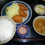 三州屋 - ひれかつ定食【税込】1,150円