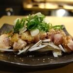 とりまる - 地鶏たたき(800円)