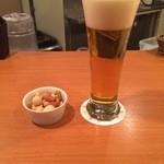 ビールバー クラウド - ビール+ミックスナッツ