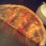 ミンタマ - フレッシュトマトピザ ハーフ 840円