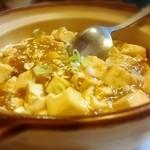 台湾料理 龍泉 - 麻婆豆腐 680円