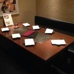 京ちゃばな 北新地 ほっこりほっこり - 7名様までご利用頂ける個室もございます。