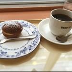 ドトールコーヒーショップ - シューセット(ブレンドコーヒーM)