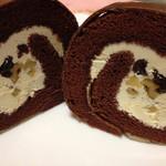 菓子工房 レタン - バタークリームの中にレーズンと胡桃