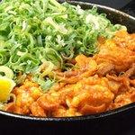 博多もつ鍋 福屋 - 料理写真:秘伝のスパイスで仕上げたにわか焼!980円!