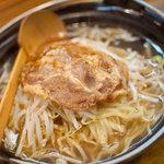南部ラーメン - 料理写真:百姓らーめん(塩)