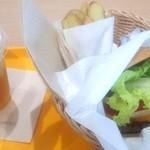 フレッシュネスバーガー - 料理