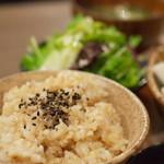 PUBLIC KITCHEN cafe - 玄米ごはんです