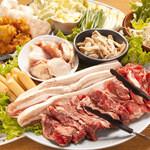 木村屋本店 - 料理写真:サムギョプサル食べ放題!
