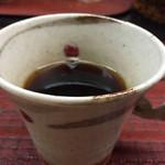 御料理山もと - コーヒー
