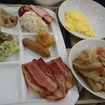 ホテルマイステイズプレミア札幌パーク - 朝食たくさんとりました