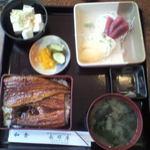 長崎屋食堂 - 料理写真:2010/06/12 12:00頃訪問 特上うな重\3,000