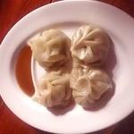 モンゴルレストラン シンキロー - ヒツジ肉の小籠包ブーズ
