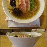 空庵 - 空庵(名古屋市緑区)鴨はちらーめん800円。食彩品館.jp撮影