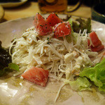 にしんば - 貝柱と大根のサラダ
