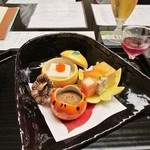 Shouwanomorikurumaya - 再訪:前菜