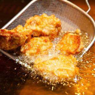◆秘伝の味!がブリチキン。の名物からあげの美味しい食べ方