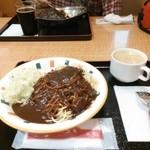 キッチンユキ 浪漫 - 料理写真:金沢ブラックカレースパゲティ