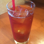 ヘラ味屋 - ランチセットの紅茶