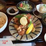 wawa和 - 本日のおまかせランチはパリパリ海老フライ