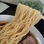 中華そば 上々 - 中華そば 麺リフト