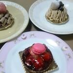 レストラン スリジェ - 三種類のケーキたち