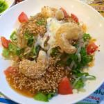 バーミヤン - 料理写真:海老マヨの濃厚冷し担々麺