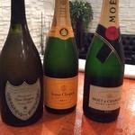 エリクサー - シャンパン多数