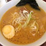 中華料理 五行山 - ハーフ味噌ラーメン