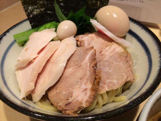 朧月 - 特製濃厚つけ麺大、麺丼鉢