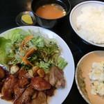 時金屋 - 料理写真:日替りランチ750円(とんてき)