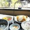Hanamurasaki - 料理写真:〈元町御膳〉                         手作りコロッケが半端なく美味しく、柔らかめのうどんとご飯も美味しゅうございます!
