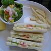 Cafe La Miell - 料理写真:ホットサンド(モーニング)です♪