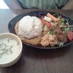 カフェ サンテ - カレープレート