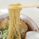 うのき食堂 - 肉中華 麺アップ
