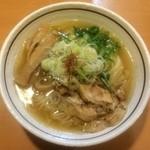 37541474 - 麺屋はなび 緑店  鶏塩ラーメン 830円
