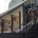 北海道はでっかい道 オホーツクの恵み 湧別町 - 階段を登って入口は二階