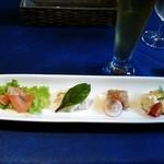 レストラン エヌ・ルトゥール - ランチの前菜
