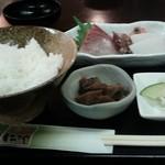 いづみや - 刺身定食  700円!