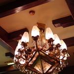 古城 - 吊(つ)り行燈(あんどん)