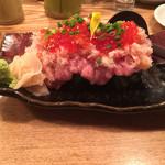 大衆割烹TAKEYA - こぼれ寿司 ハーフ       780円
