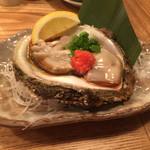 大衆割烹TAKEYA - 岩牡蠣 1100円