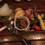ポキート - 前菜盛り合わせ